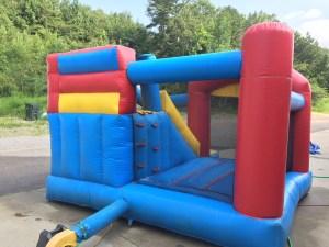 3Blast Zone Preschool Bounce House combo