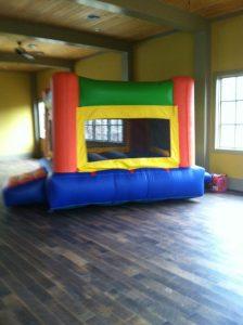 7Fun Indoor Out Orange Bounce House moonwalk