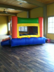 7Fun Indoor Out Orange Bounce House moonwalk