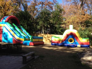 24Crazy Maze Obstacle Course and Giant Drop Dry slide