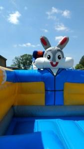 5Funny Bunny bounce house moonwalk