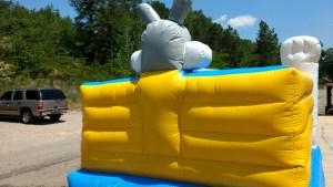 8Funny Bunny bounce house moonwalk