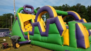1Green Thing 55 foot Obstacle Course