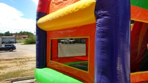 22Over the Rainbow bounce house combo