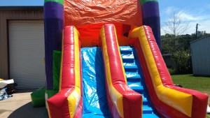 21Over the Rainbow bounce house combo
