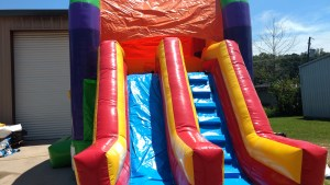 21Over the Rainbow bounce house combo