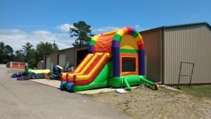 15Over the Rainbow bounce house combo