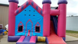 7Princess Palace bounce house combo