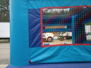 12Blue Sky moonwalk bounce house combo