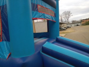 8Blue Sky moonwalk bounce house combo