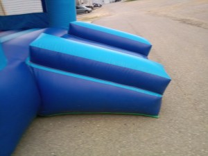 7Blue Sky moonwalk bounce house combo