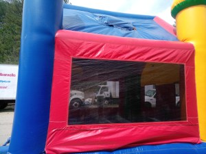 10Candyland bounce house moonwalk