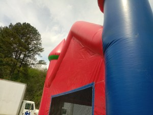 8Candyland bounce house moonwalk