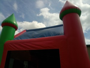 6Candyland bounce house moonwalk