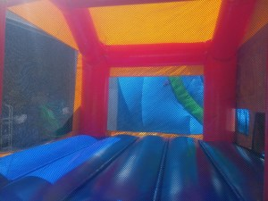 1Club house bounce house moonwalk