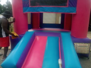 4Pink Castle bounce house combo