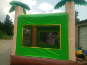 12Tropical Island bounce house combo