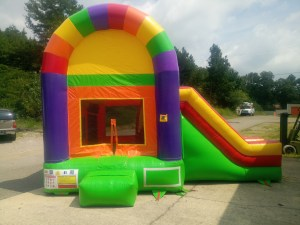 12Over the Rainbow bounce house combo