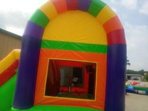 7Over the Rainbow bounce house combo
