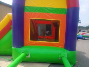 6Over the Rainbow bounce house combo