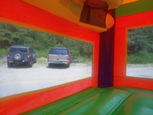 3Over the Rainbow bounce house combo