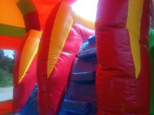 27Over the Rainbow bounce house combo