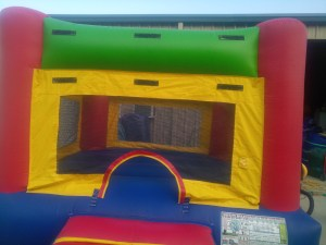 2Fun Indoor Out Red Bounce House moonwalk