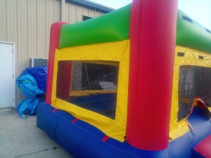 9Fun Indoor Out Red Bounce House moonwalk