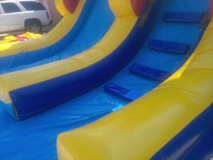 2Deep Blue wet dry slide