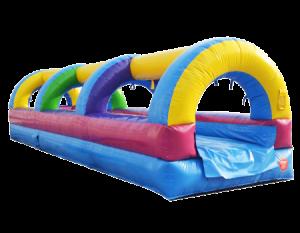 1Rainbow Slip and Slide Water slide