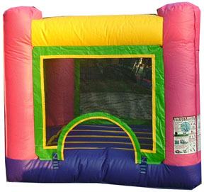 1Baby Pink Jumper Bounce House moonwalk
