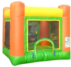 2Baby Orange Jumper Bounce House moonwalk