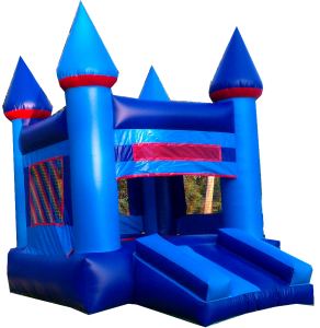 17Blue Sky bounce house combo moonwalk