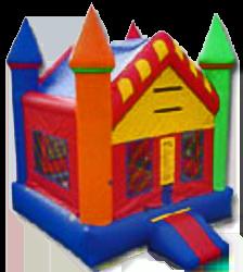 1candy land castle bounce house
