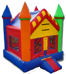 1candy land castle bounce house