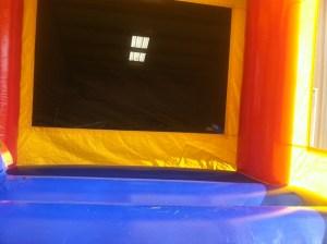 9Super Double Jumpy Jump bounce house combo