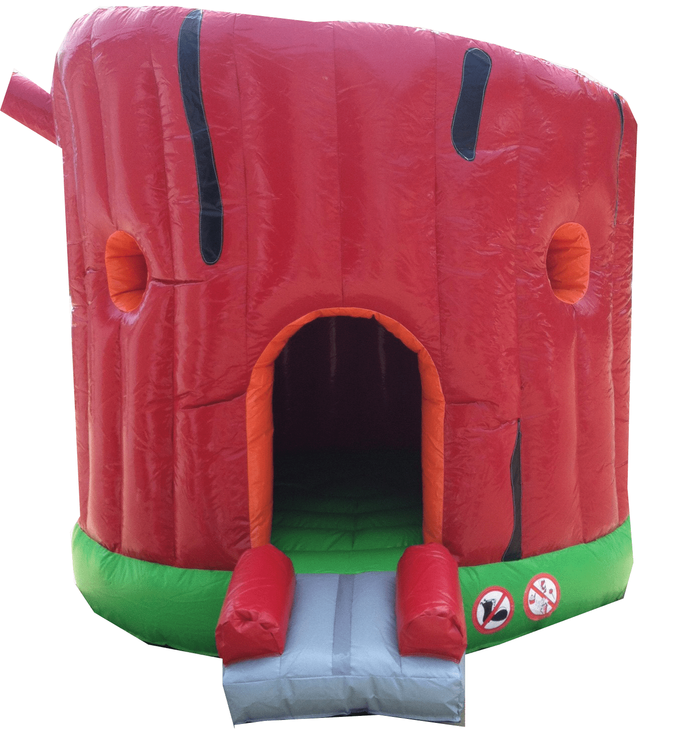 1Secret Tree house moonwalk bounce house front