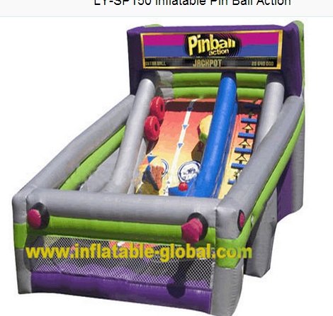 1Pinball Action Dry slide