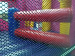 Mega Princess bounce house combo princess crawl