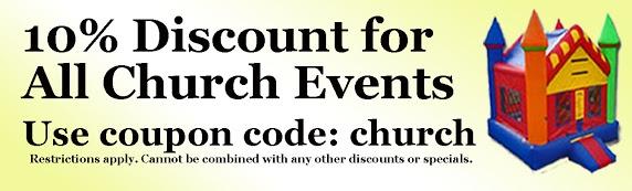 church discount