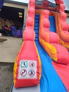 Cannonball Wet Dry slide close up