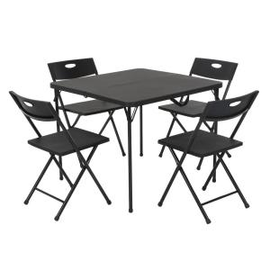 Card Table and 4 chair set