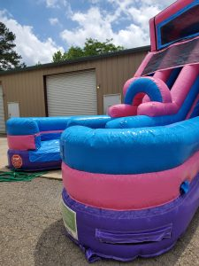205Party Girl Power Twin Tower Wet Dry Slide bottom