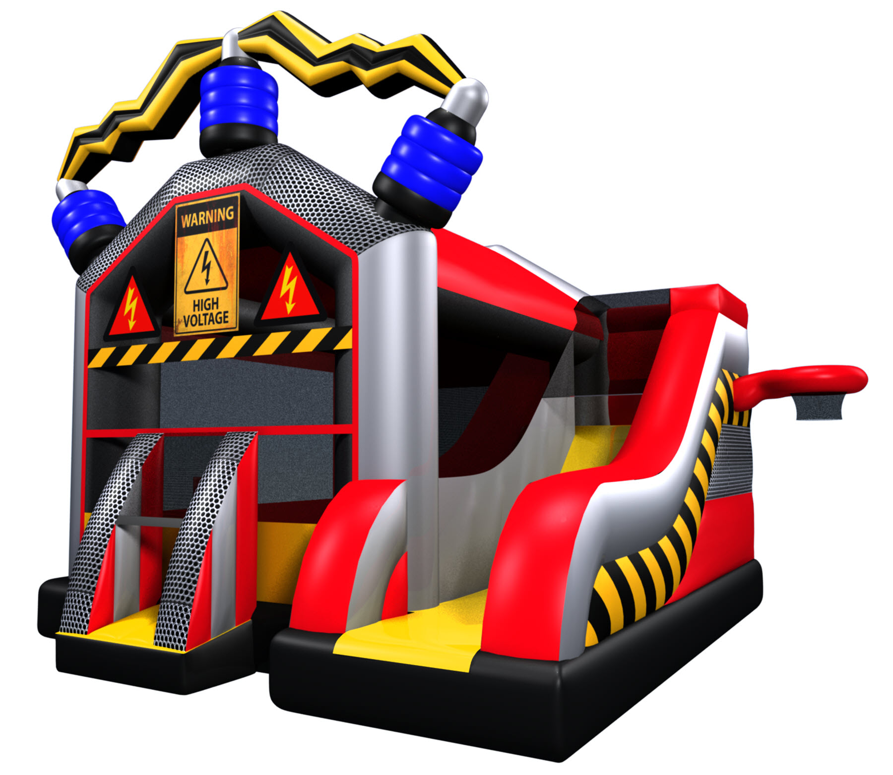 Mad Science bounce house combo