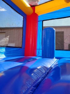 Sports Arena Bounce House inside