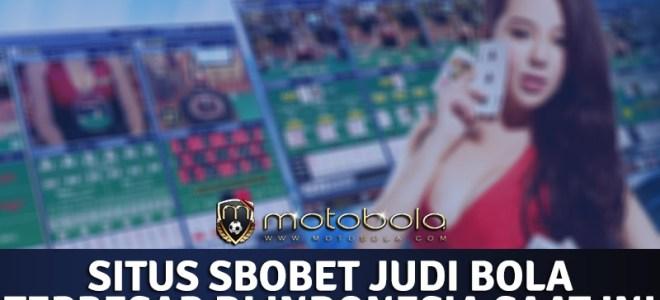 Situs SBOBET Judi Bola Terbesar di Indonesia Saat ini