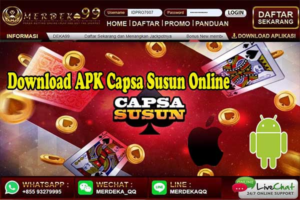 Download Capsa Susun Online For Android