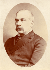 Charles Morse, one of the bankers at the center of the Panic