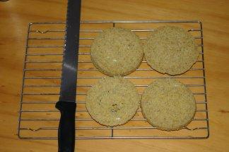 Myatt Bread - sliced into 4