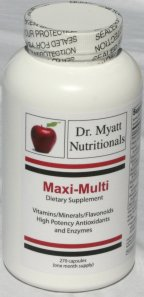 Maxi Multi Optimal Dose Daily Multiple Vitamin / Mineral / Antioxidant Formula